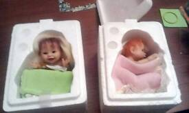 Two baby dolls