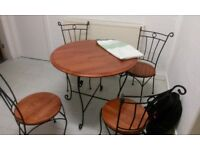 Chairs and 4 Table