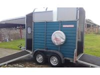 horse trailer wessex in immaculate condition