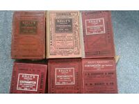 Kelly's directories various years mainly Portsmouth and one of Southampton