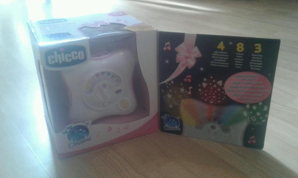 New chicco baby rainbow cube