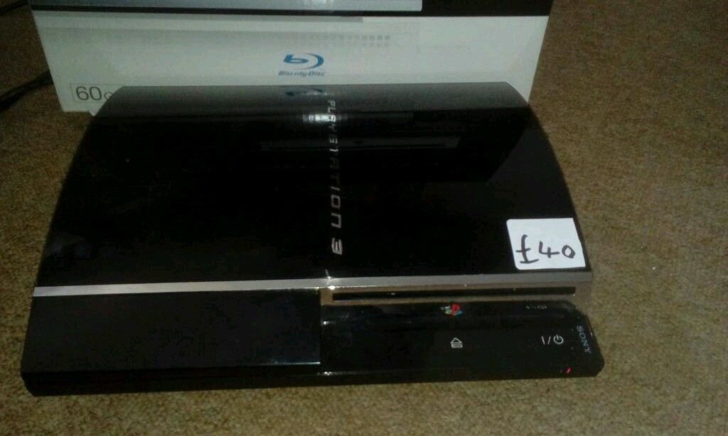Fat ps3 console launch model faulty stuck in standby