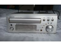 Denon CD receiver UD-M30 with two speakers* fixer-upper