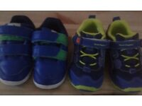 baby boy trainers-size 4