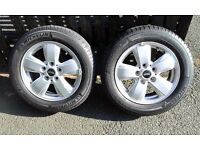 "GENUINE BMW Mini F55/56/5715"" Heli Spoke Alloy wheels to fit 3rd. Generation One and Cooper"