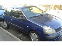 Renault Clio Authentique (60) 8V 2005, very low mileage 1 careful owner. Full service history. MOT