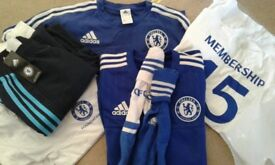 Chelsea training gear, small.