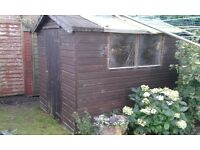 garden shed 6ft x 8ft