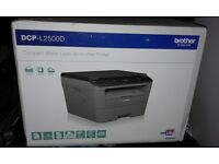 Compact Mono Laser all-in one Printer DCP-L2500D