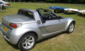 SMART Roadster - Speedsilver special edition. Targa top, V low mileage, Economical, Garage stored