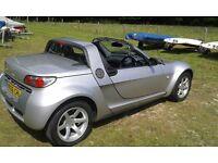 SMART Roadster - Speedsilver special edition. Targa top, V low mileage, Economical, Garage stored