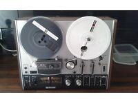 kai 4000DB Reel to Reel Tape Deck. Dolby B Sound on Sound Facility