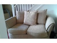 x2 two seater sofa's