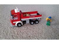 Lego City tipper truck
