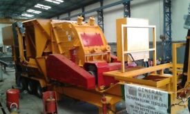 Mobile Secondary Impact Crusher with high capacity for sale.