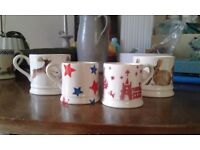 Emma Bridgewater little mugs