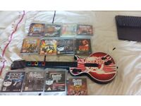 PS3 Guitar and games