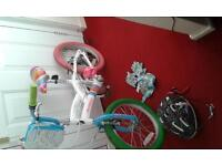Child/kids bike with accessories for sale pick up only