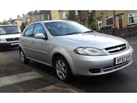 Chevrolet Lacetti Very Low Milage, Reliable & Tidy Car