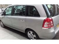 2008 VAUXHALL ZAFIRA 1,9 AUTOMATIC DIESEL 1 YEAR PCO 7 SEATER
