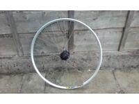 """NEW front mountain bike wheel 26"""" mavic xc 717 deore disk disc only"""