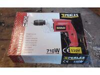 Brand New 110volt Hammer Drill c/w Plug, Boxed, Swiss Made.