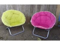 Papysan style folding Garden Chairs - DELIVERY AVAILABLE