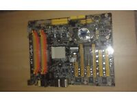 NF4 LanParty motherboard with Dfi Karajan R885/G Audio Module
