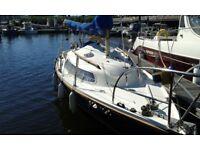 Galion 22 Sailing Yacht / boat (Dark Crusader!) - Birthed in Cardiff Bay Yacht Club