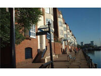 Canada Water SE16. Light, Spacious & Contemporary 3-4 Bed Furnished Duplex Flat with Dock Views