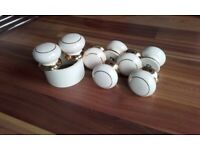 Ceramic Cabinet or Wardrobe Door/Drawer Knobs