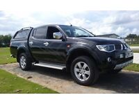 2009 mitsubishi L200 animal double cab 176bhp leather satnav mot july 2017 NO VAT pos px mini cooper