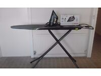 Seminew BOSCH iron (and ironing table) Just a couple of times used!!!