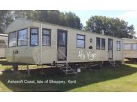 ASHCROFT COAST: Isle of Sheppey: 3-bed static for HOLIDAY LETS ONLY