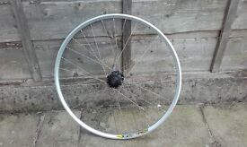 "NEW front mountain bike wheel 26"" mavic xc 717 deore disk disc only"