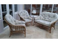 Conservatory Sofa and Two Chairs