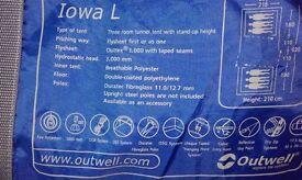 Outwell Iowa L tent