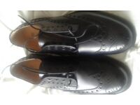 BRAND NEW MENS BROGUES BY JOSEPH CHEANEY SIZE 9 BEST OF BRITISH MARKS & SPENCER