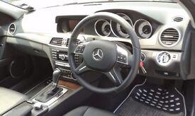 2013 (63) Mercedes-Benz C Class C180 1.6 Petrol Blueefficiency Executive SE 7 speed Automatic