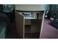 Computer desk/ Cabinet for the home and 2 drawer filing cabinet