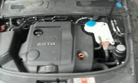 Audi A4 / A6 2.0 TDI BRE complete engine 2008