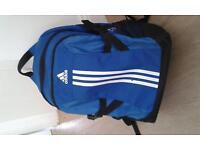Black /Blue Adidas School Bag Perfect Condition
