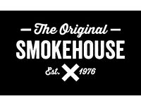 Staff required for an exciting new restaurant; 'The Original Smokehouse' in London Westfield.