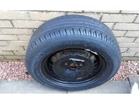 Ford s max spare wheel and tyre