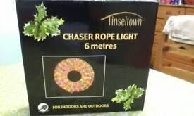 Chaser rope light