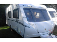2008 abbey safari 4 berth sited if reqiured