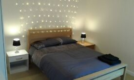 lovely fully furnished 2 bed flat for rent close to town centre with own private parking space.