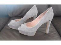 Faith peep toe heels size 7