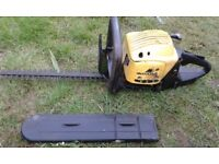 hedge cutter petrol mcculloch mh452p does start and run spares or repairs