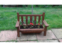 Garden planters and furniture